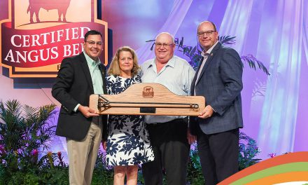 Back Creek Angus earns Ambassador Award