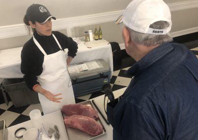 Certified Angus Beef ® brand Meat Scientist Diana Clark at the 2019 Boucherie