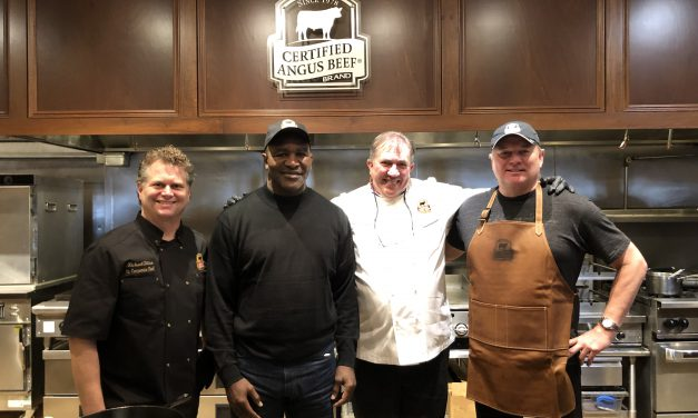 <em>Certified Angus Beef</em> <sup>®</sup> brand Partners with Evander Holyfield and Morten Andersen for Super Celebrations in Atlanta
