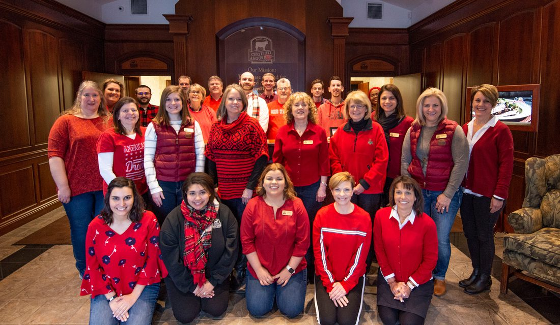 Certified Angus Beef LLC Goes Red for Heart Health Awareness