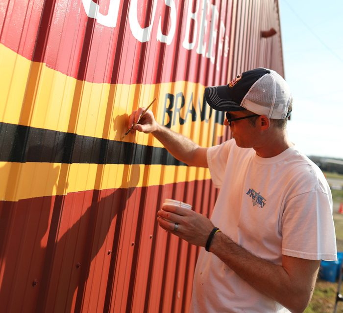 Brand Celebrates 40th Year with 40 Barn Paintings