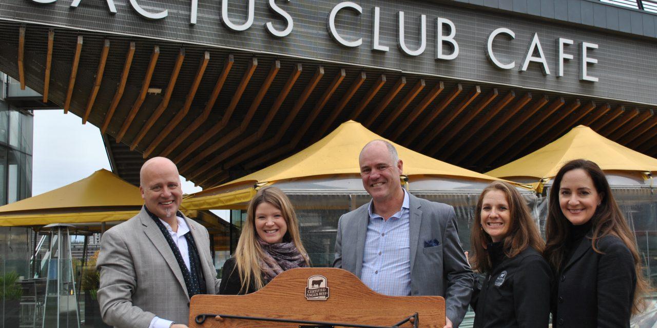 Cactus Club Café Recognized for Beef Marketing